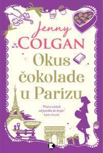 Naslovnica knjige: Okus čokolade u Parizu