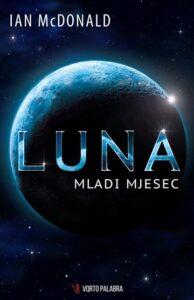 Naslovnica knjige: Luna – Mladi mjesec