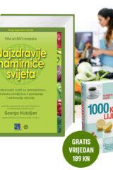 Naslovnica knjige: Najzdravije namirnice svijeta + 1000 kućnih lijekova