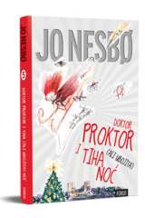 Naslovnica knjige: Doktor Proktor i tiha (ali ubojita) noć