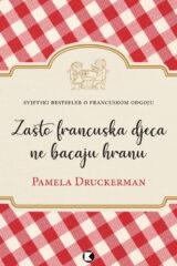 Naslovnica knjige: Francuska djeca ne bacaju hranu