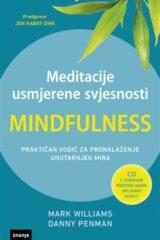 Naslovnica knjige: Meditacije usmjerene svjesnosti