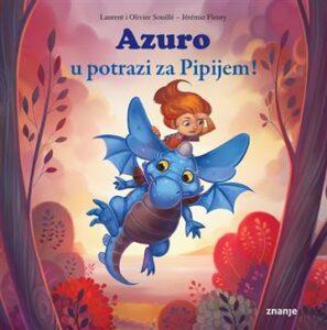 Naslovnica knjige: Azuro u potrazi za Pipijem!