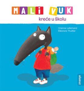 Naslovnica knjige: Mali Vuk kreće u školu