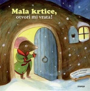 Naslovnica knjige: Mala krtice, otvori mi vrata!