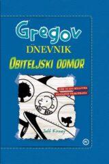 Naslovnica knjige: Gregov dnevnik – Obiteljski odmor