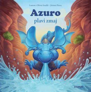 Naslovnica knjige: Azuro plavi zmaj