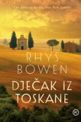 Naslovnica knjige: Dječak iz Toskane