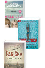 Naslovnica knjige: Komplet: Male laži + Zaručnica + Mala pariška knjižara