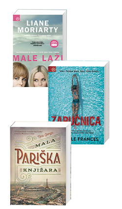 Komplet: Male laži + Zaručnica + Mala pariška knjižara