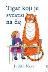 Naslovnica knjige: Tigar koji je svratio na čaj
