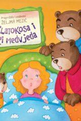 Naslovnica knjige: Zlatokosa i tri medvjeda