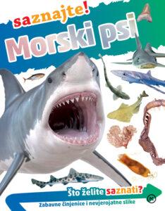 Naslovnica knjige: Morski psi – saznajte!