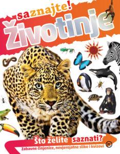 Naslovnica knjige: Životinje –  saznajte!