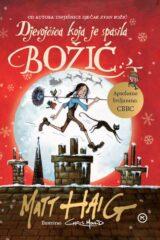 Naslovnica knjige: Djevojčica koja je spasila Božić