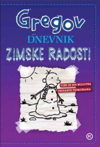 Naslovnica knjige: Gregov dnevnik: Zimske radosti