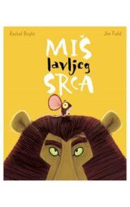 Naslovnica knjige: Miš lavljeg srca