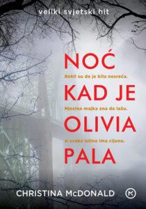 Naslovnica knjige: Noć kad je Olivia pala