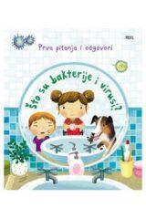 Naslovnica knjige: Što su bakterije i virusi?