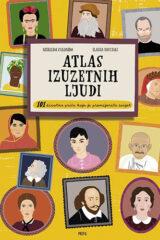 Naslovnica knjige: Atlas izuzetnih ljudi
