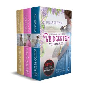 Naslovnica knjige: Komplet Bridgerton 1-3