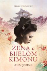 Naslovnica knjige: Žena u bijelom kimonu
