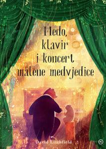 Naslovnica knjige: Medo, klavir i koncert malene medvjedice