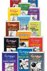 Naslovnica knjige: Komplet Gregovi dnevnici – 14 knjiga