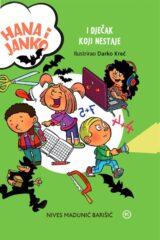 Naslovnica knjige: Hana i Janko i dječak koji nestaje