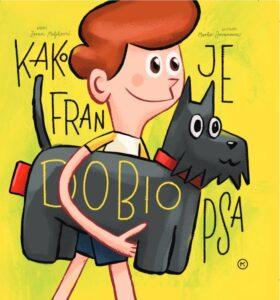 Naslovnica knjige: Kako je Fran dobio psa