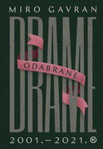 Naslovnica knjige: Odabrane drame – Gavran