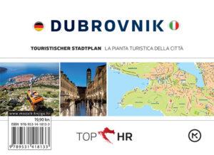 Naslovnica knjige: TOP HR – DUBROVNIK NJEM-TAL plan grada