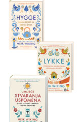Naslovnica knjige: Komplet: Hygge+Lykke+Umijeće stvaranja uspomena