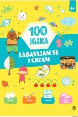 Naslovnica knjige: 100 igara – zabavljam se i crtam 4+