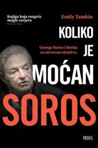 Naslovnica knjige: Koliko je moćan Soros