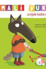 Naslovnica knjige: Mali Vuk uvijek kaže ne