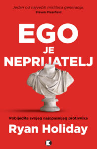Naslovnica knjige: Ego je neprijatelj