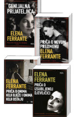 Naslovnica knjige: Komplet Elena Ferrante