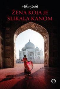 Naslovnica knjige: Žena koja je slikala kanom