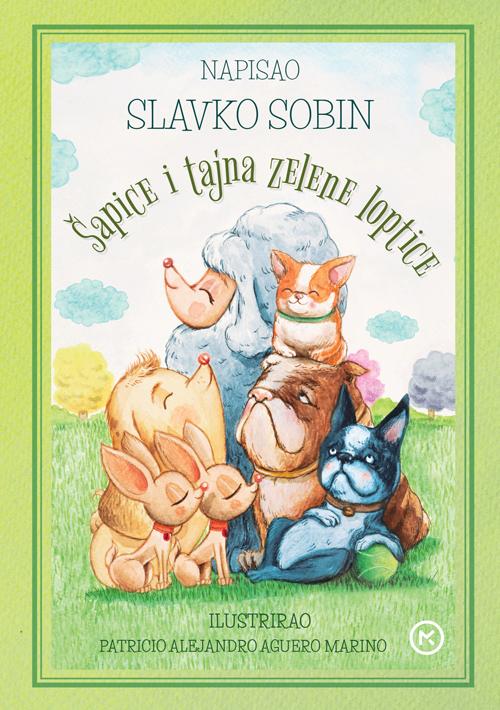 Naslovnica knjige: Šapice i tajne zelene loptice