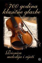 Naslovnica knjige: 700 godina klasične glazbe