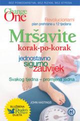 Naslovnica knjige: MRŠAVITE KORAK PO KORAK