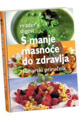 Naslovnica knjige: S MANJE MASNOĆE DO ZDRAVLJA