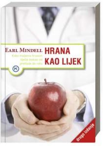 Naslovnica knjige: HRANA KAO LIJEK