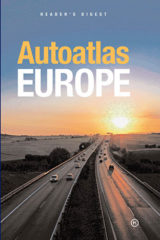 Naslovnica knjige: Autoatlas Eerope