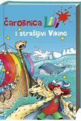 Naslovnica knjige: ČAROBNICA LILI I STRAŠLJIVI VIKING