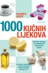 Naslovnica knjige: 1000 KUĆNIH LIJEKOVA