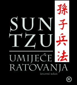 Naslovnica knjige: UMIJEĆE RATOVANJA – izvorni tekst