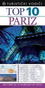 Naslovnica knjige: TOP 10 PARIZ