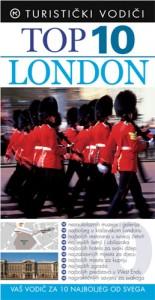 Naslovnica knjige: TOP 10 LONDON